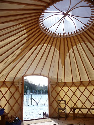 orchard skiils centre yurt